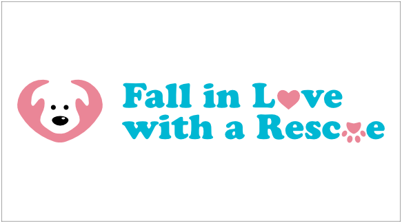 DoggyLottery_Fall in love with a rescue_logo